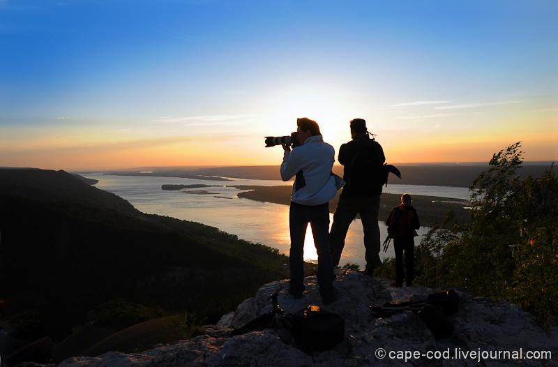 блогеры на Жигулевских горах
