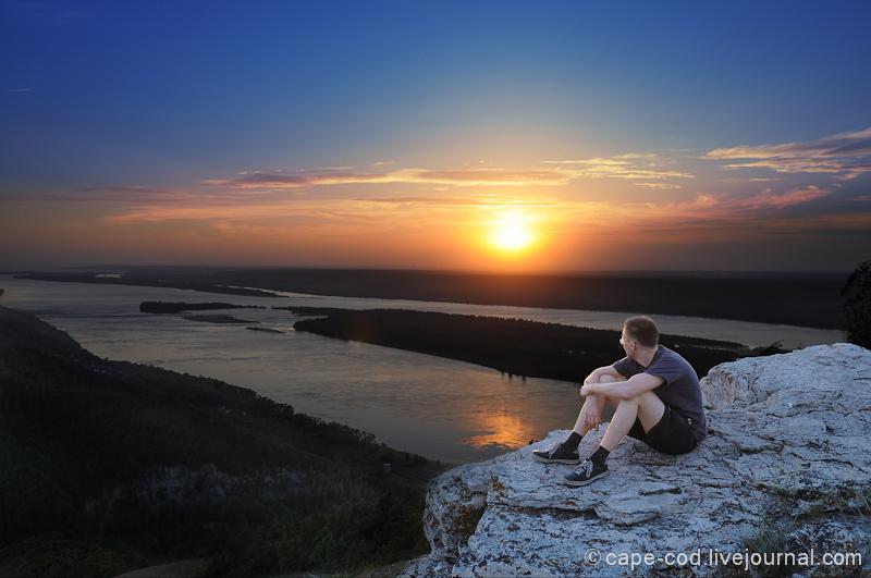 Волга, гора Стрельная