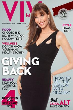 VIV mag december 2010 cover