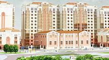 Сайт жилого комплекса River Side