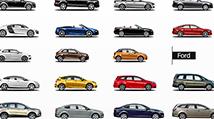 Автомобильные иконки